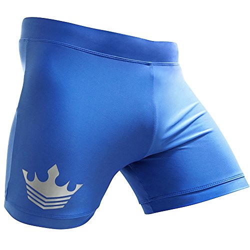 Meister MMA Crown Vale Tudo Fight Shorts - Blue - 30/31