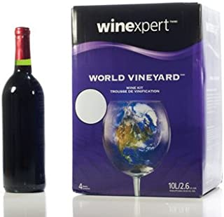 World Vineyard Chilean Malbec 10 Liter Wine Making Kit