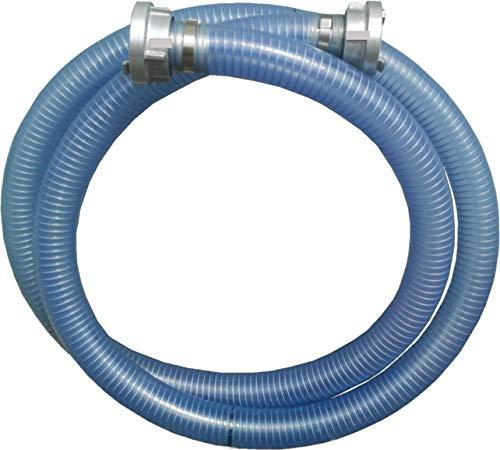 Saugschlauchgarnitur DN50 2 x Storz C, Stahlspiralschlauch (2 Meter)
