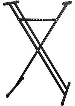 Casio ARDX Double-X Adjustable Keyboard Stand,Black