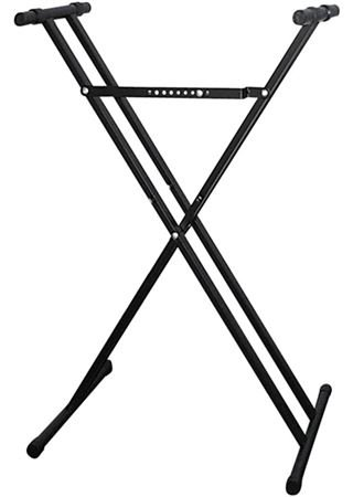 Casio ARDX Double-X Adjustable Keyboard Stand,Black