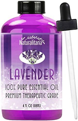 Best Lavender Essential Oil 4oz Bulk Lavender Oil Aromatherapy Lavender Essential Oil for Diffuser product image