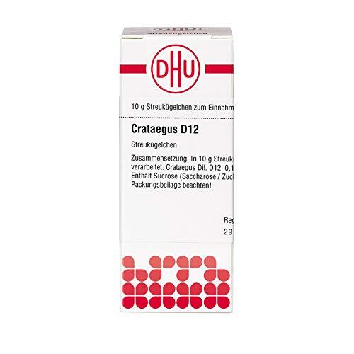 DHU Crataegus D12 Streukügelchen, 10 g Globuli
