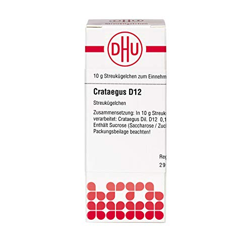 DHU Crataegus D12 Globuli, 10 g Globuli