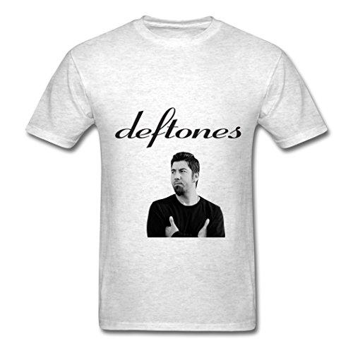 Ty Deftones Negro Papel Pintado T Shirt para Hombre Light Oxford