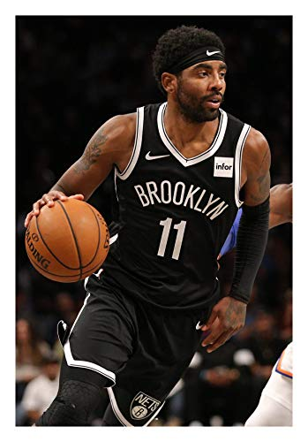 Fullfillment Posters Kyrie Irving Poster Brooklyn Nets Glossy Print Photo Wall Art Limited Celebrity Sports Athlete NBA Basketball Sizes 8x10 11x17 16x20 22x28 24x36 27x40#1 (11x17 inches)