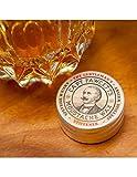 CAPTAIN FAWCETT Cera Bigote Gentleman's Stiffener Whisky de Malta 15ml, Negro, Estandar