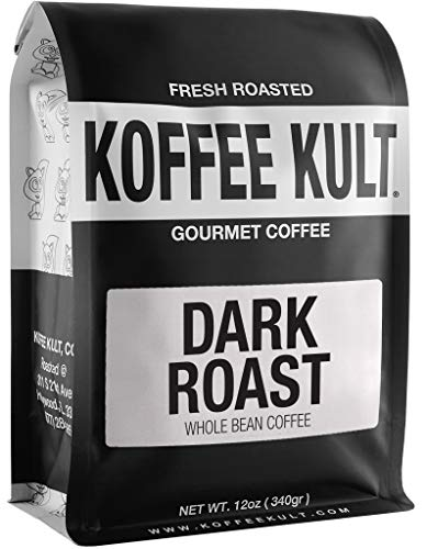 Koffee Kult Coffee Beans Dark Roasted - Highest Quality...