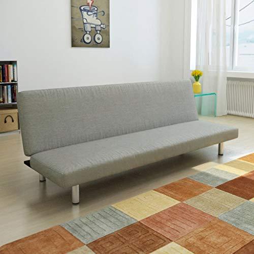 Tidyard Clic-clac/Canapé à Lit avec Haute Qualité Style Moderne Gris Foncé