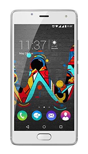 Wiko U Feel Smartphone (12,7 cm (5 Zoll) HD IPS-Display, Fingerabdruck-Sensor, 16 GB interner Speicher, Android 6 Marshmallow) creamy