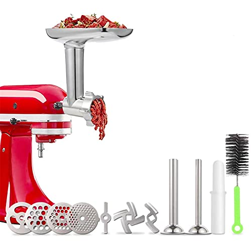 Meat Grinder Attachment for KitchenAid Stand Mixers,...
