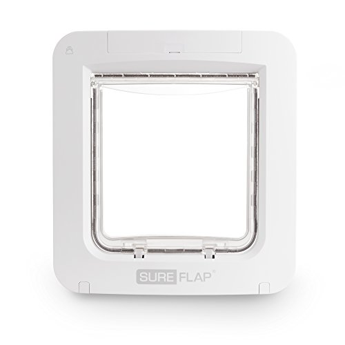 SureFlap Microchip Pet Door Connect Without Hub - Flap Opening is 6 3/4 inches by 7 inches