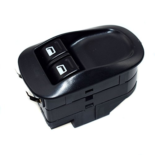 eGang Auto Panneau de Commande d'interrupteur de vitre électrique Avant 6552WQ 6552.WQ 6552 WQ pour Peugeot 206/206 CC (2003 2004 2005 2006 2007 10/2008) V 1.4 Nouveau