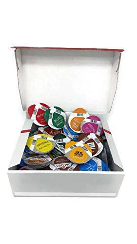 Tassimo Geschenkset zum Probieren, 32 Sorten (36 Kapseln) in schönem Geschenkkarton