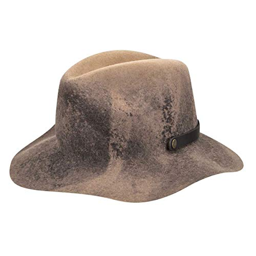 Bailey of Hollywood Chapeau Ashmore Chapeau pour Homme Chapeau d´ete (XL/60-61 - Marron)