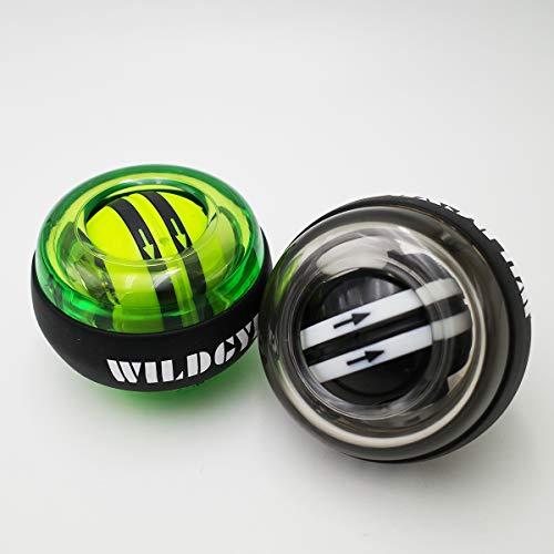 N\C Wrist Trainer Exercises Power Ball | Gyroscope Forearm Wrist Strengthener Exercise Balance Toy Power Trimmer Gyroscope Ball and LED Light