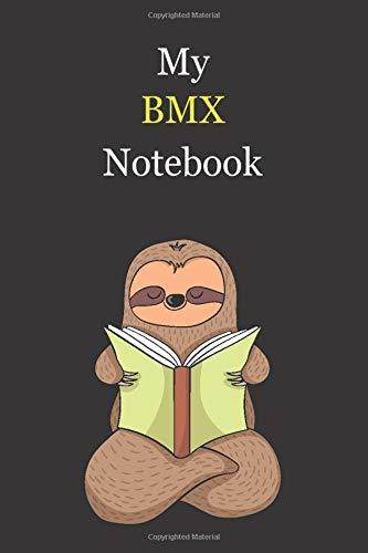 My BMX Notebook: Blank Lined Notebook Journal