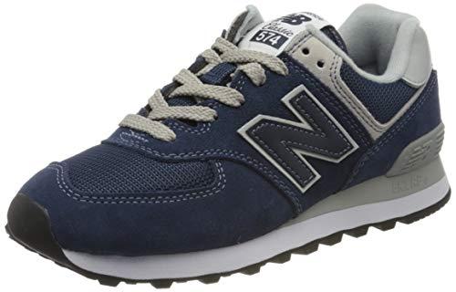 New Balance Mujer 574v2 Core, Zapatillas Azul (WL574EN), 38 EU