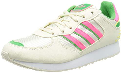 adidas Damen Special 21 W Gymnastikschuh, Cream White Solar Pink Energy Green, 40 EU