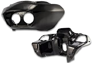 Bagger Brothers BB-HD1584-049 Vivid Black Front Outer and Inner Fairing (in Vivid Black ABS Plastic) HARLEY DAVIDSON ROAD GLIDE 1998 - 2013