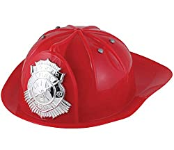 Plastic Fireman Play Hat