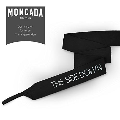 Boxbandagen mit Daumenschlaufe von Moncada Fighting (4m) Halb elastische Boxbandagen mit extra breitem Klettverschluss Abbildung 2