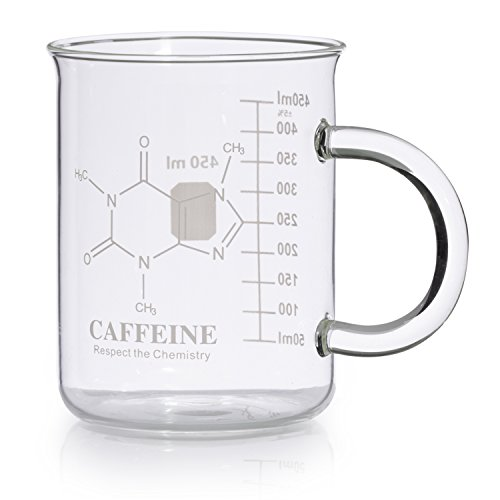 Caffeine Molecule Mug for Science Teachers