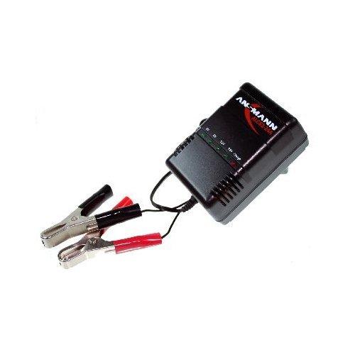 Ansmann Automatik Ladegerät für Bleigelakkus ALCS2-24A Steckerladegerät für wartungsfreie 2-24V Blei- und Bleigel-, bzw. Bleivlies-Akkus Ladegerät für Auto- Roller- Motorrad-Batterie Blei-Akku 2V-24V Akku Accu Aku Batterie Acku