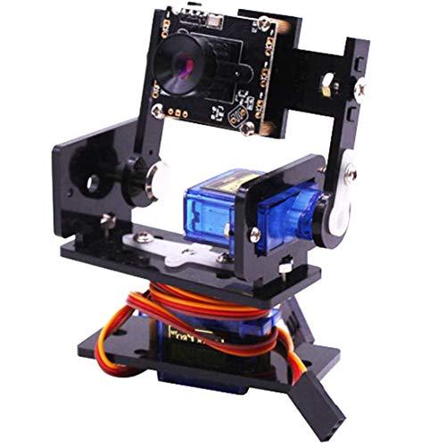 RUIZHI Yahboom Kameramodul Smart Vision Sensor Pan-Tilt Kit mit 2 St. SG90 Micro Servos Smart Robot HD Kamera für Raspberry Pi 4B / 3B +