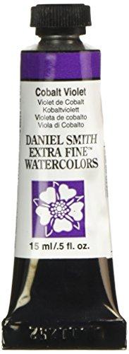 Daniel Smith 284600030 Extra Fine Watercolor 15ml Paint Tube, Cobalt Violet