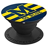 PopSockets: Michigan Football Go Blue PopSockets Grip and Stand for Phones and Tablets