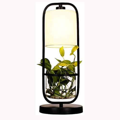 SPNEC Tabla planta de hierro forjado lámpara de mesa de la vendimia lámpara ahorro de la lámpara del ojo de la lámpara dormitorio de la energía del aire Estudio dormitorio compartido planta restaurant