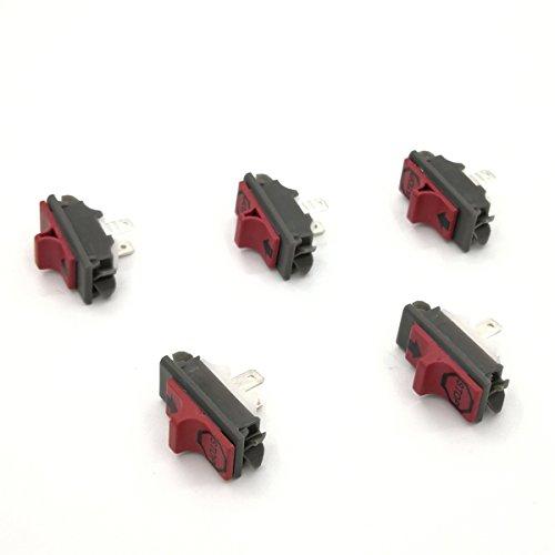Cancanle 5 Piezas Interruptor para Husqvarna 395 394 345 340 336 288 281 272XP 272 268 266 61 36 41 50 51 55 Motosierra