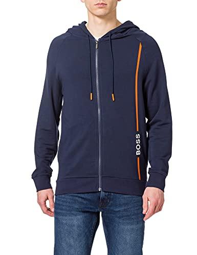 BOSS Fashion Jacket H Sudadera con Capucha, Dark Blue402, M para Hombre