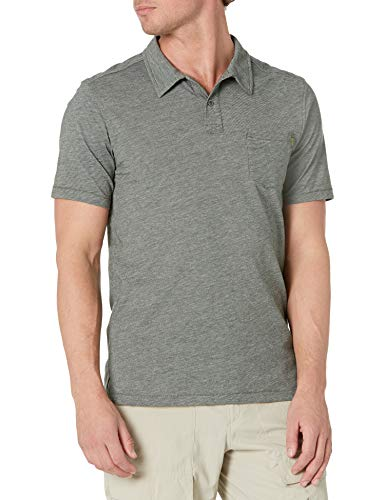 Outdoor Research Cooper Polo à Manches Courtes pour Homme Moyen Evergreen