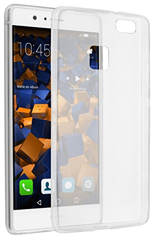 mumbi Hülle kompatibel mit Huawei P9 Lite Handy Case Handyhülle dünn, transparent