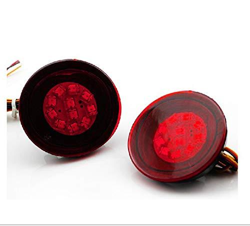 Topteng LED Achterlichten Staart Lampen, Drivers Achterlicht Staart Lamp Passagier Vervanging voor Ni-ssan Qas-hqai Dua-lis 2007-2013