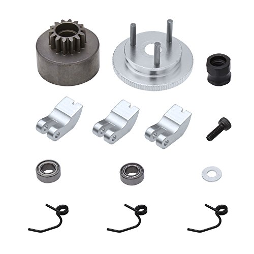 Hobbypark RC Clutch Bell 14T Gear Flywheel Assembly & Shoes Springs Nitro Engine Motor For Redcat HSP BAZOOKA 1:8 Buggy Upgrade Parts 81020