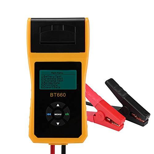 Duokon batterijtester 12V digitale auto-auto-accu-laadtester Analyzer-test met printer Meertalig