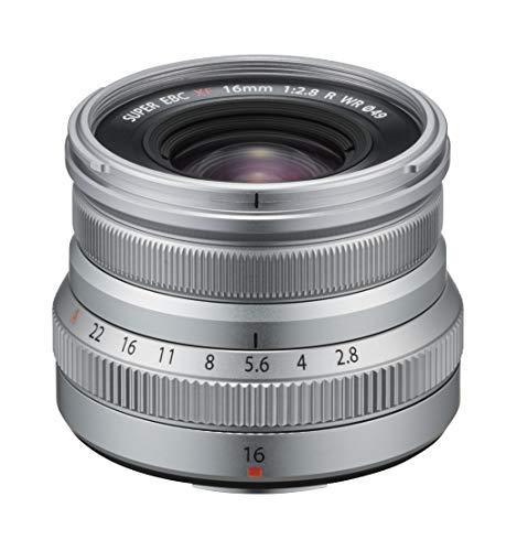 Fujifilm FUJINON XF 16 mm F2.8 R WR, Color Plateado