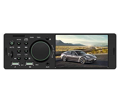 ZXZXZX Auto SpielerMp5,4-Zoll-HD-Dual-USB-Auto-MP5-Player 12V Universaltyp, Bluetooth-Freisprecheinrichtung, Die Die Festplatte Der Image-Karte U Umkehrt