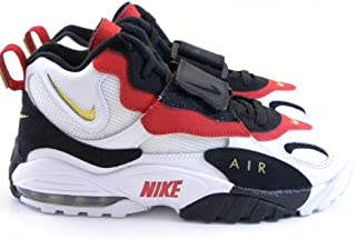 new styles 89cbb 32e39 Nike Air Max Speed Turf 49ers White Black Gold Red Marino Men Shoes