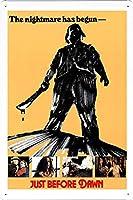 夜明け前映画ブリキ金属標識バーバーレトロレトロ壁装飾ポスターファミリークラブ