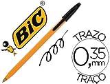 Boligrafo BIC naranja color Negro (20 Unidades)