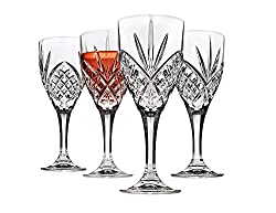 Godinger Shatterproof Dublin Wine Goblets (Set of 4)