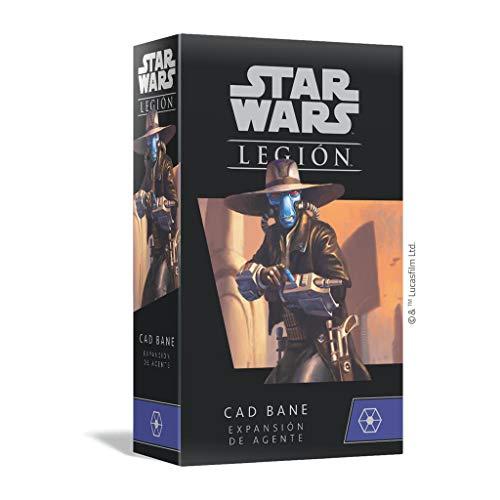 Fantasy Flight Games- Star Wars Legion - Cad Bane Expansión de Agente - Juego...
