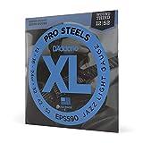 D'Addario ProSteels EPS590 Cordes pour guitare électrique Jazz Light 12-52