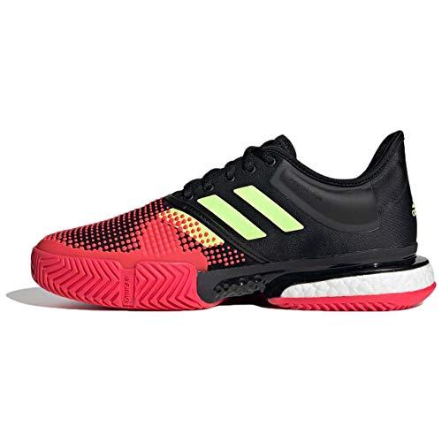 Adidas Solecourt Boost W, Zapatillas de Deporte Mujer, Multicolor (Multicolor 000), 36 1/3 EU