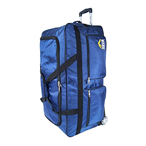 Extra Large Lightweight Wheeled Holdall Luggage Bags Travel Holiday 34 inch/Blue