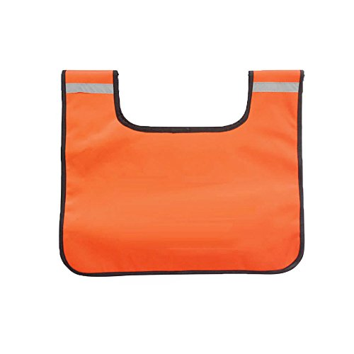 Comily Plus+ Strong Durable PVC Winch Rope Dampener Blanket with Pocket-Light Orange Color